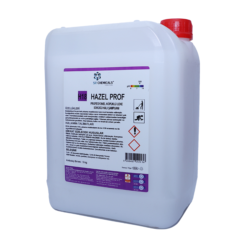 Professional Carpet Cleaner (Foaming) Contains Enzymes