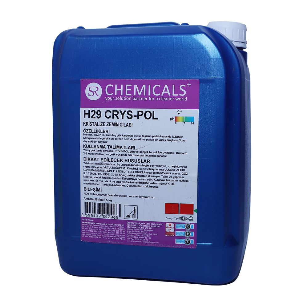 Crystallized Floor Polish