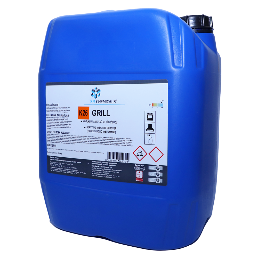 Heavy Oil and Grime Remover (Viscous Liquid and Foaming)