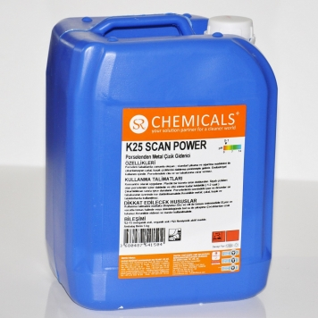 SCAN POWER Metal Scratch Remover from Porcelain
