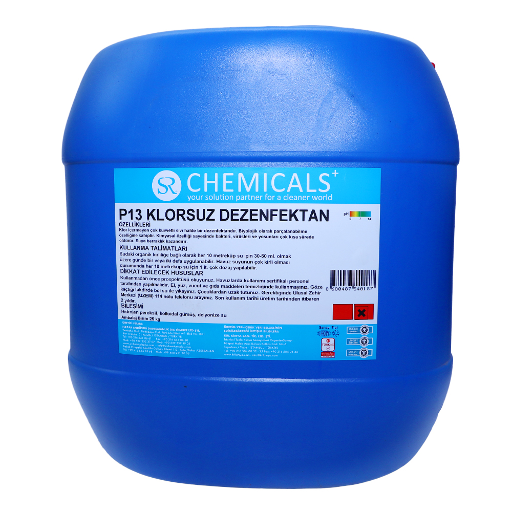 Chlorine-free disinfectant